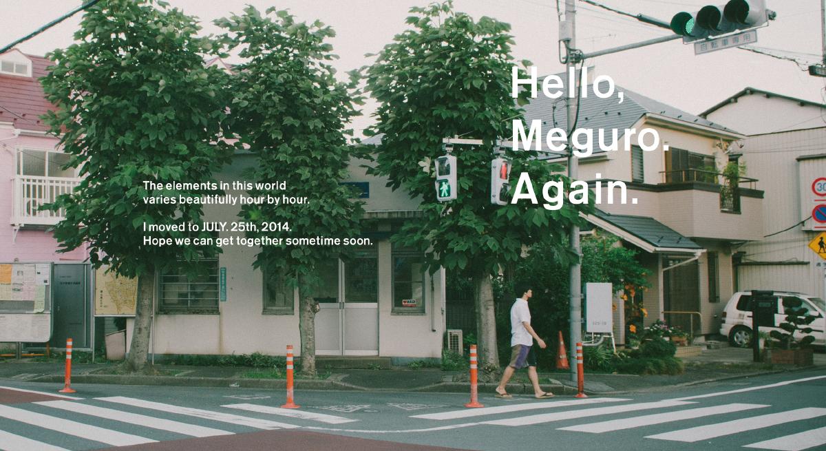 Hello, Meguro. Again.