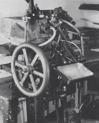 Hand Casting Machine